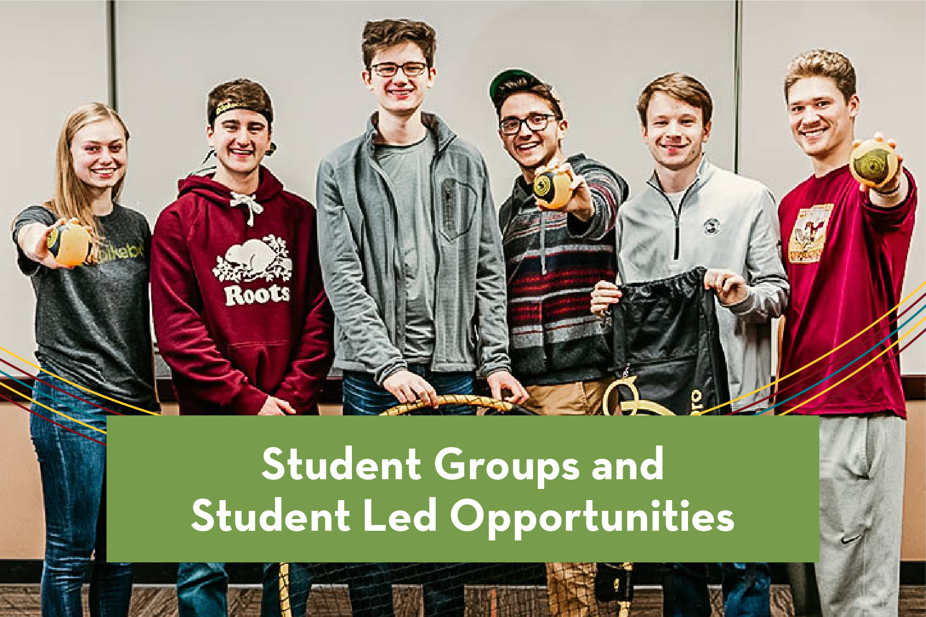 student groups & student lead opportunities